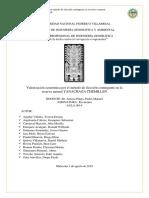 Encuesta Para La Valorizacion Economica-localidad de Villa Rica