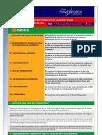 Guía de etiquetado de productos alimenticios para el mercado de EE.UU. 2007