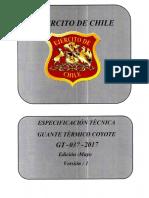 Térmico Coyote Gt-037-2017 v.1