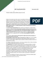 La Importancia de La Prevención _ Revista Cabal