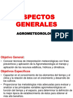 Agroclimatologia General