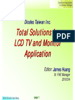 DIODES_Total Solutions for LCD TV and Monitor Application