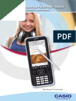 CASIO Livret Utilisateur Fx CP400 Tome2