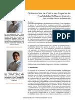 Optimizacion de Costos en Proyecto de Conf