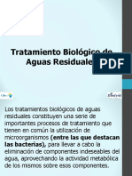 Tratamiento Biologico de aguas residuales