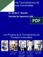Termodinámica de Los Procesos Irreversibles