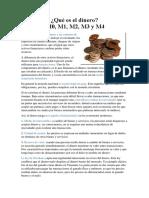 DInero y Relacion Con Mh M1 M2 M3 M4
