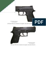 Descripcion de Arma Sig Sauer p 250