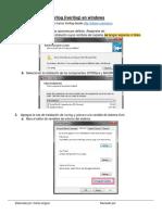 Instrucciones Iverilog en Windows