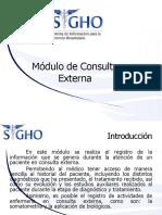 Expediente Clinico Electronico ECE-SIGHO Para Pasantes de Medicina
