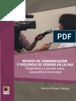 Violencia de Género en Tv Villegas Pieb Gamlp