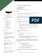 Curriculum Paola Cercado 2019 (Psic Cl) Fiscalia