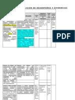 Matriz de Precision de Desempeños y Evidencias 1[1]