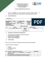 2. Ficha Observación Áulica (Castellano)