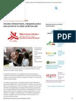 Quien _ Iniciativa Global Hearts, Trabajando Juntos Para Promover La Salud Cardiovascular