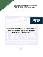 Desenvolvimento do Instrumento de RASTREIO PARA O RISCO DE DISFAGIA PED -Etges, Camila Lucia_Dissertação.pdf