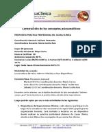 Propuesta de Cursada de Prácticas en Causa Clínica 1Q2016