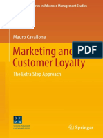 Marketing and customer loyalty