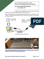 Telemetre Arduino Labview