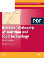 Muestra Dictionary of Nutrition and Food Technology Cambridge