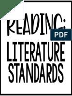 reading- literature standards