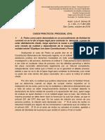 Ejercicios Prácticos Procesales Civiles.