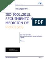 Iso 9001 2015 Seguimiento y Medicion de Procesos