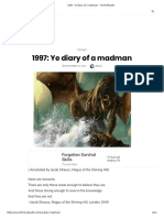 1997 Ye Diary Of a Madman