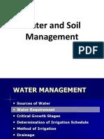 Water & Soil Management
