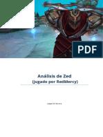 Consejos Para Zed - Analisis de RedMercy