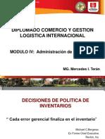 diplomado comercio y gestion logistica internacional
