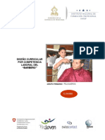 Diseño Curricular - Barberia