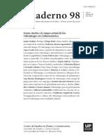 Fabiola Knop - Cuadernos del Centro de Estudios en Diseño y Comunicación Nº98 - Game studies - el campo actual de los videojuegos en Latinoamérica - 2021