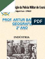 aula geografia das indústrias
