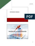 3 Diseño de Investigción Exploratoria