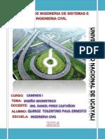 Memoria Descriptiva Diseno Geometrico de Carreteras
