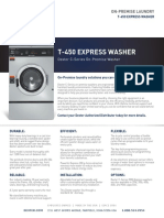 Dexter t 450 Express t 450 on Premise Specification Sheet