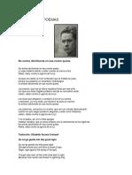 Dylan Thomas - Poemas