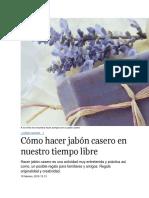 Jabones Caseros Buena Calidad