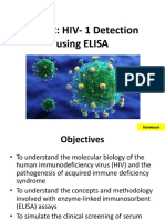 Lab 7 HIV Detection Using ELISA