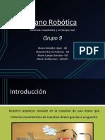Mano Robotica Arduino Presentacion