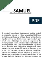 1 SAMUEL Aula Semário 24 de Junho de 2019