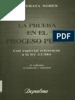 Cafferata Nores Jose La Prueba en el Proceso Penal.pdf