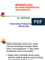 Sistem Imun Spesifik dan Non Spesifik