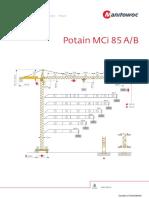 Potain Tower Cranes Spec 7f4428
