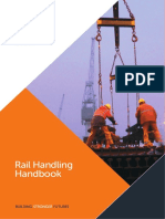 Handling, Lifting and Storage of Rails