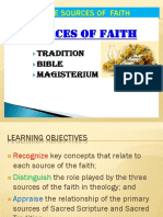 R1 Lesson 3 Sources of the Faith (1)