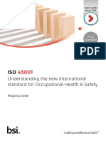 Bsi Iso 45001 and Ohsas 18001 Mapping Guide