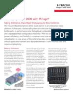 BladeSymphony 2000 Datasheet G10 (Press Quality)