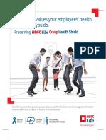 HDFC-Life Group Health Shield Brochure V1